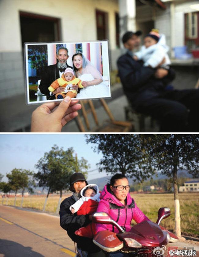 Cô gái 27 tuổi người Trung Quốc tên Trương Phượng tự nguyện lấy ông lão 72 tuổi vì ông đã nhiều năm chữa bệnh cho bố cô.