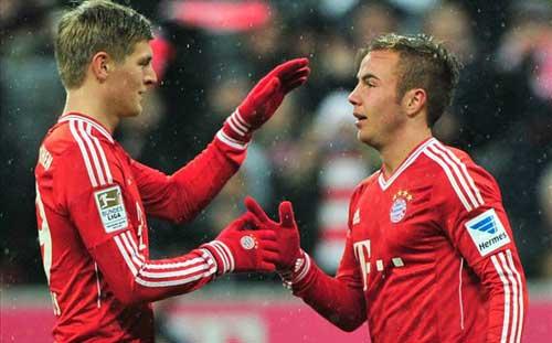 Bayern – Hamburg: Vô địch mùa đông - 1