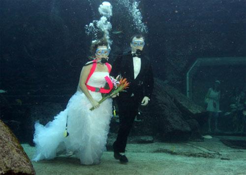 Những kỷ lục đám cưới khác người nhất - 1
