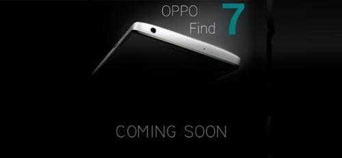 OPPO Find 7 và những thông số dự kiến - 1