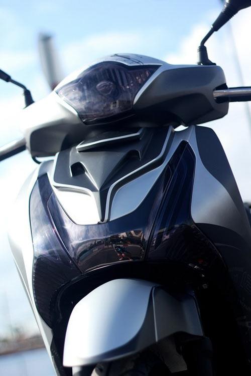 Trào lưu độ mặt nạ cho Honda SH 2012 - 1