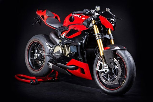 Bản dựng Ducati 1199 Panigale theo phong cách streetfighter - 1