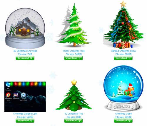 Cách tạo cây thông Noel trên desktop cực đơn giản - 1