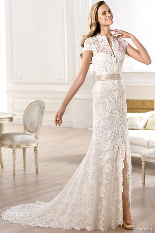 Tôn nét diễm lệ bằng váy cưới cao cấp - 1