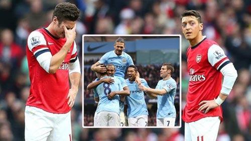 """""""Arsenal sẽ đứng lên sau nỗi đau Etihad"""" - 1"""