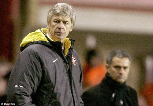 """Mourinho: """"Tôi mơ ước được như Wenger"""" - 1"""