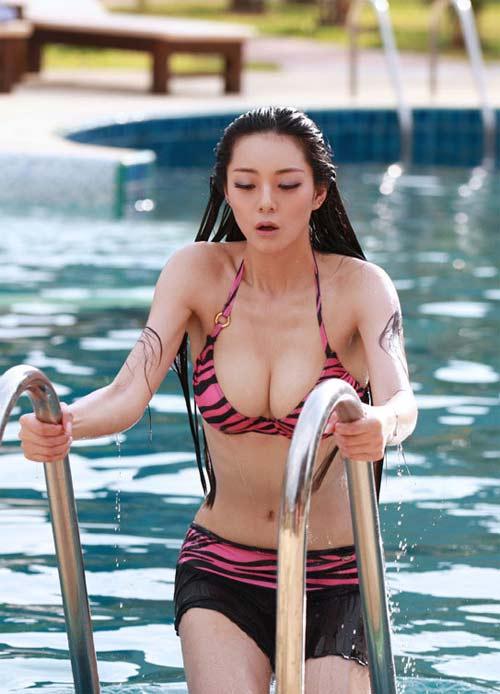 Mỹ nhân mê thể thao nóng bỏng nhất Trung Quốc - 1