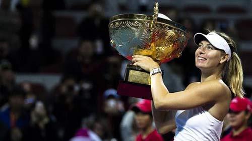 Lên số 2, Sharapova mơ soán ngôi Serena - 1
