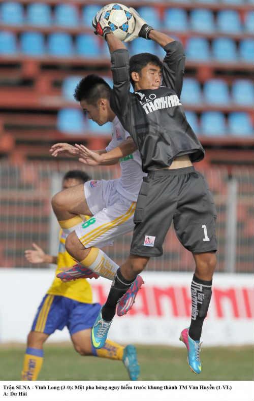 Hà Nội T&T cùng Sông Lam Nghệ An vào bán kết giải U21 báo Thanh niên - 1