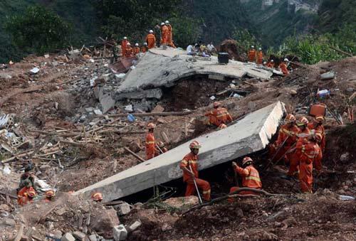 Động đất ở Trung Quốc ảnh hưởng tới Hà Nội - 1