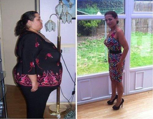 Sửng sốt với vẻ quyến rũ của quý cô giảm 130kg trong 2 năm - 1