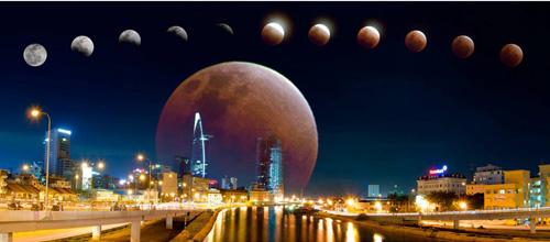 """Tối nay, có thể quan sát """"trăng máu"""" từ Việt Nam - 1"""