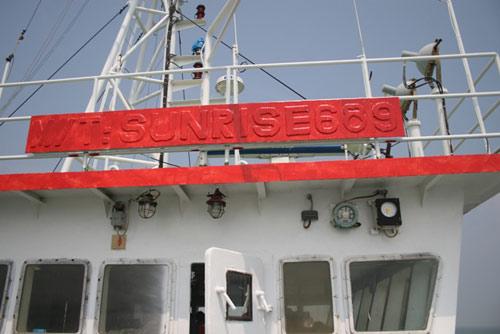 Lời khai của thuyền viên tàu Sunrise không thống nhất - 1