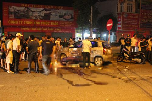Nghệ An: Xe taxi sang đường tông chết một quân nhân - 1