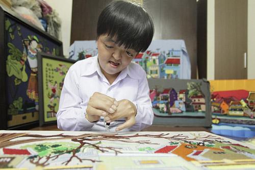 Dệt tình yêu Hà Nội bằng tranh thêu - 2