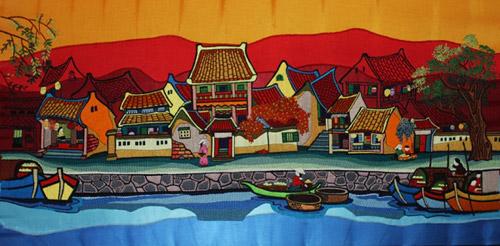 Dệt tình yêu Hà Nội bằng tranh thêu - 7