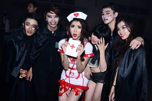 3 kiểu hóa trang Halloween được sao Việt yêu thích - 1