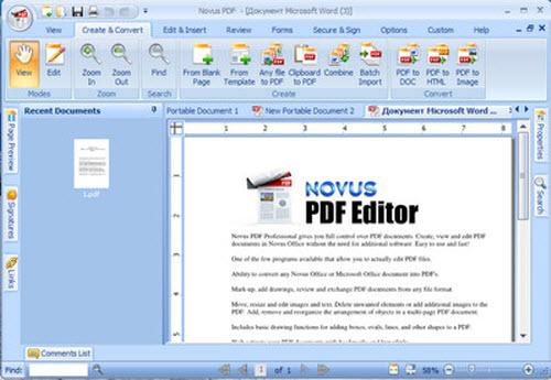 Phần mềm giúp chỉnh sửa file PDF dễ dàng - 1