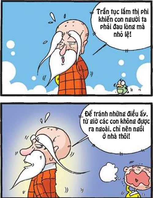 Thiếu Lâm hài: Ví dụ minh họa rất lạ - 1