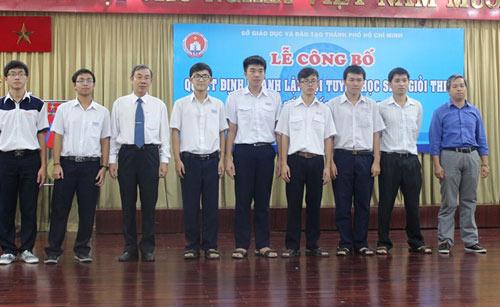 TPHCM thành lập đội tuyển thi học sinh giỏi quốc gia 2015 - 1