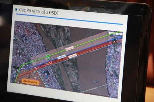 Cầu đường sắt sẽ cách cầu Long Biên 75m? - 1