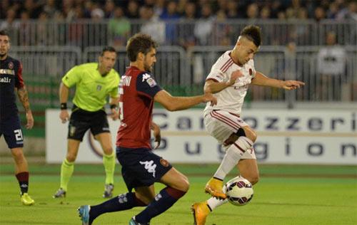 Cagliari - Milan: Trận chiến cân sức - 1