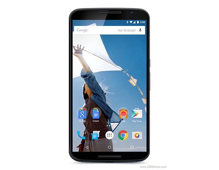 Google vừa công bố mẫu điện thoại thông mình mới Nexus 6 do Motorola sản xuất chạy hệ điều hành Android 5.0 Lollipop.