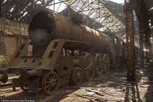 Bên trong nghĩa địa tàu hỏa ở châu Âu - 1