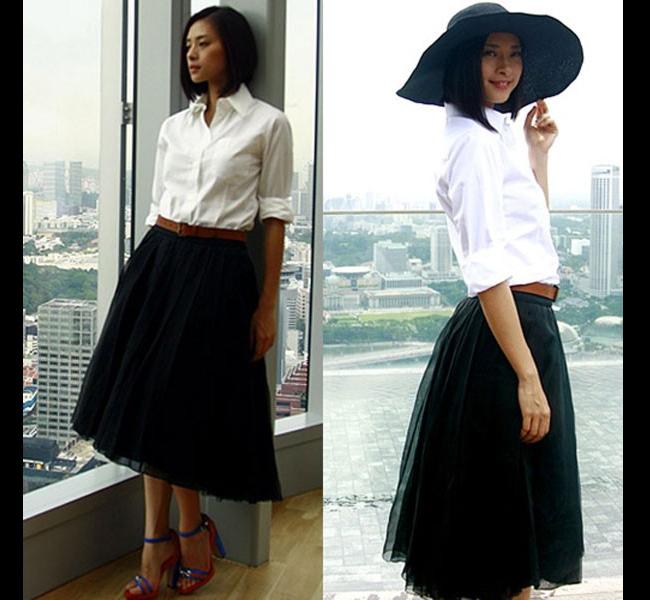 Ngô Thanh Vân luôn yêu thích phong cách tối giản