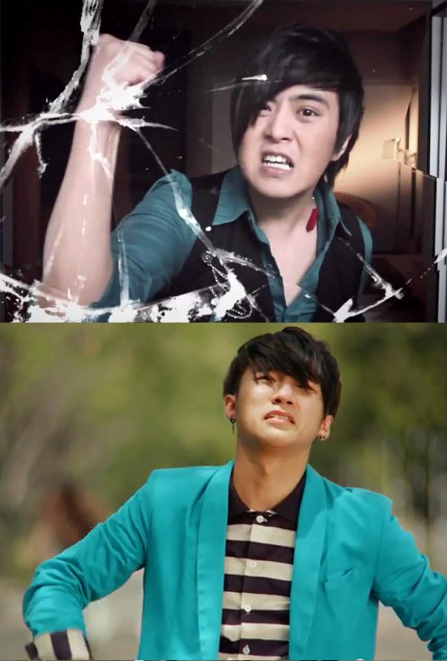 Những biểu lộ cảm xúc kịch tính của Sơn Tùng M-TP trong phim mới cũng dễ khiến người xem nhớ lại hình ảnh Wanbi.