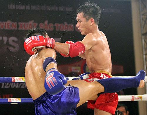 Xem võ sỹ Muay Thái ra đòn kịch tính tại TP HCM - 1
