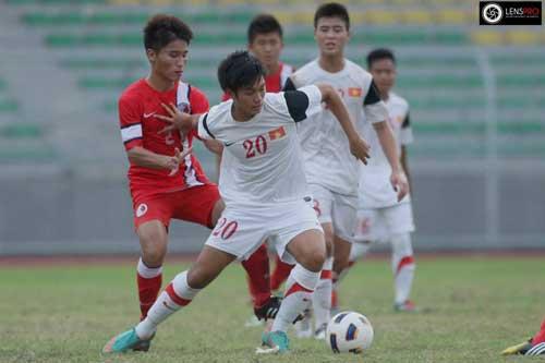 U19 Việt Nam chơi dưới sức mình - 1