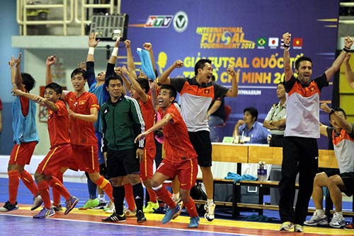 Chiến thắng để đời của Futsal Việt Nam - 1