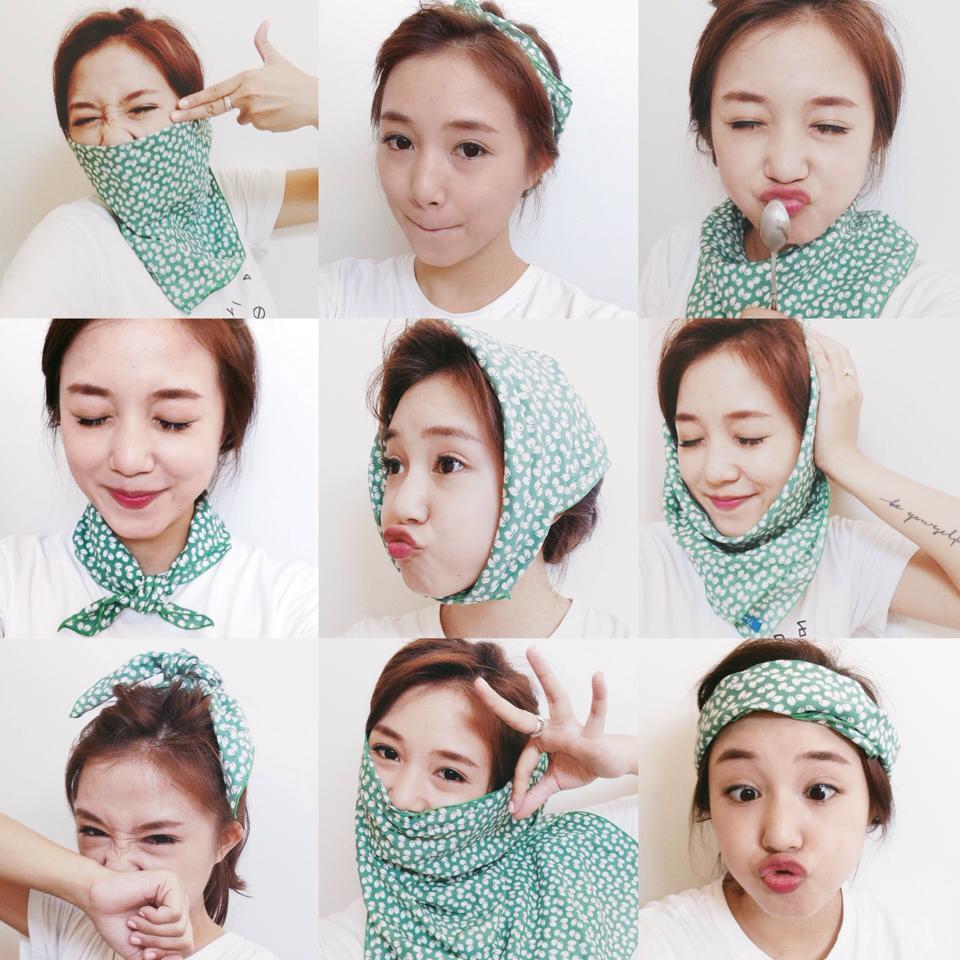 Những điều bạn có thể làm với một chiếc khăn ||KhanPhuKien.vn