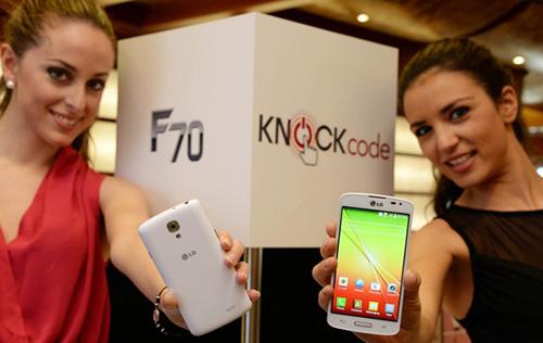 Điện thoại tầm trung LG F70 có mức giá hấp dẫn - 1