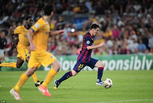 APOEL – Barca: Khó cản Messi và các đồng đội - 1