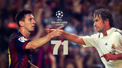 Messi - Raul: Ai vĩ đại hơn ở Champions League? - 1