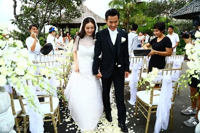 9 đám cưới đẹp nhất Cbiz năm 2014 - 1