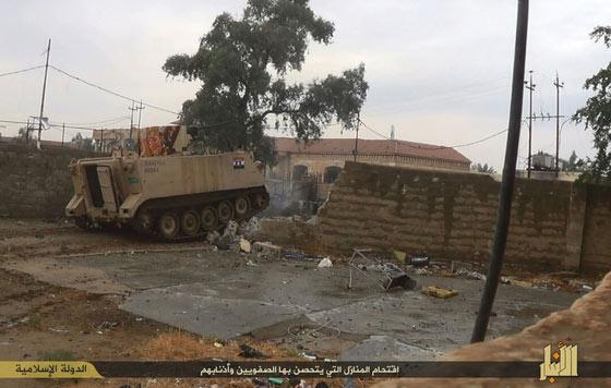 Thành phố trọng yếu của Iraq sắp rơi vào tay IS - 1