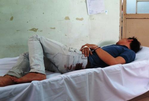 Trinh sát nổ súng, bắt gọn 2 tên cướp ở Sài Gòn - 1