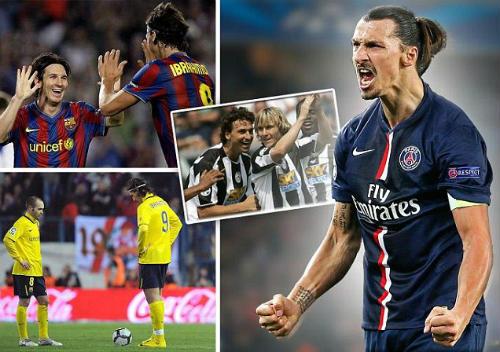 """Gạt CR7, Ibra đặt mình cạnh Messi ở """"Dream Team"""" - 1"""