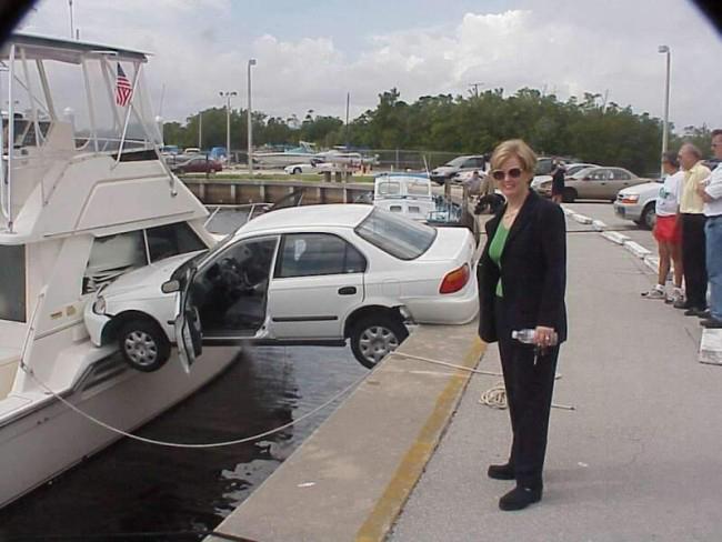 Ô tô cũng muốn lên du thuyền