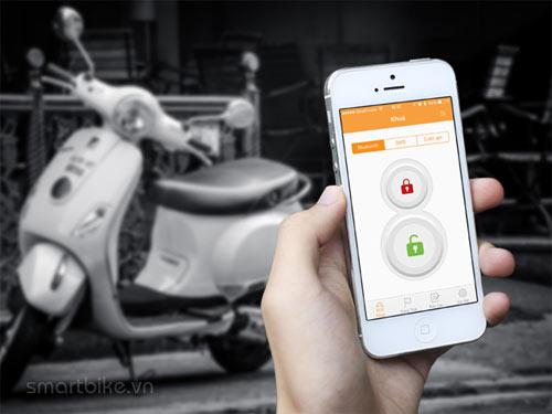 Giải pháp chống trộm xe máy bằng Smartphone - 1