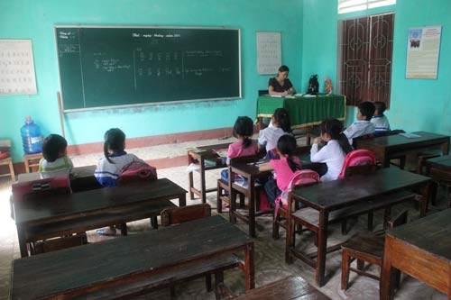 Vụ 500 HS ở Hà Tĩnh nghỉ học: Tháng 12 phải giải quyết xong - 1