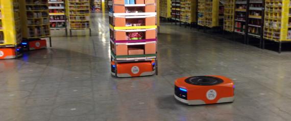 Amazon đang sử dụng 'đội quân' 15.000 robot để vận chuyển hàng - 1