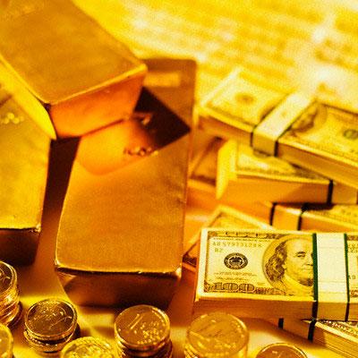 """USD """"trượt dốc """" theo giá vàng - 1"""