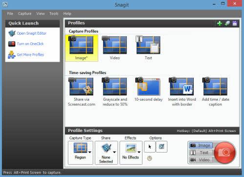 Phần mềm quay phim, chụp ảnh màn hình đa năng - 1