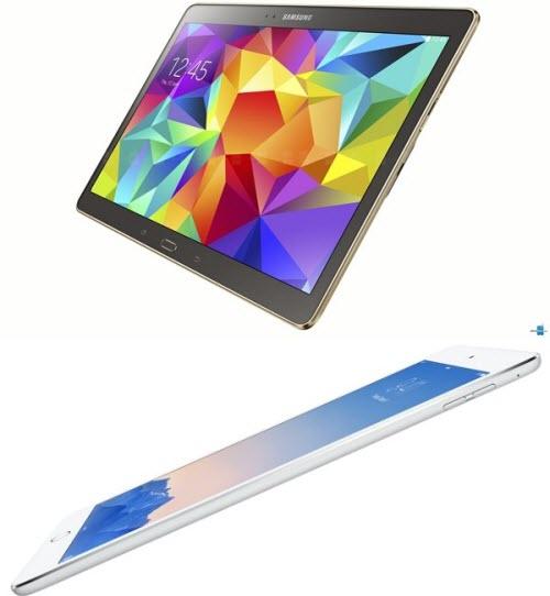 Chọn Samsung Galaxy Tab S hay iPad Air 2? - 1