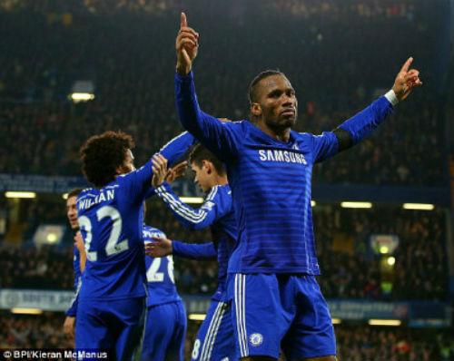 Chelsea - Tottenham: Phô diễn sức mạnh - 1