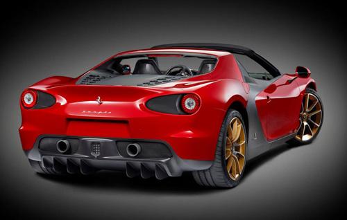 Ferrari Sergio: Siêu xe mui trần giá ngất ngưởng - 1